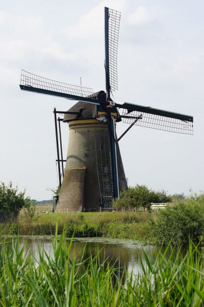 Windmuehle in Kinderdijk