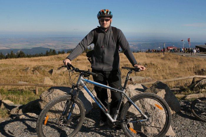 Mit dem Fahrrad auf den Brocken