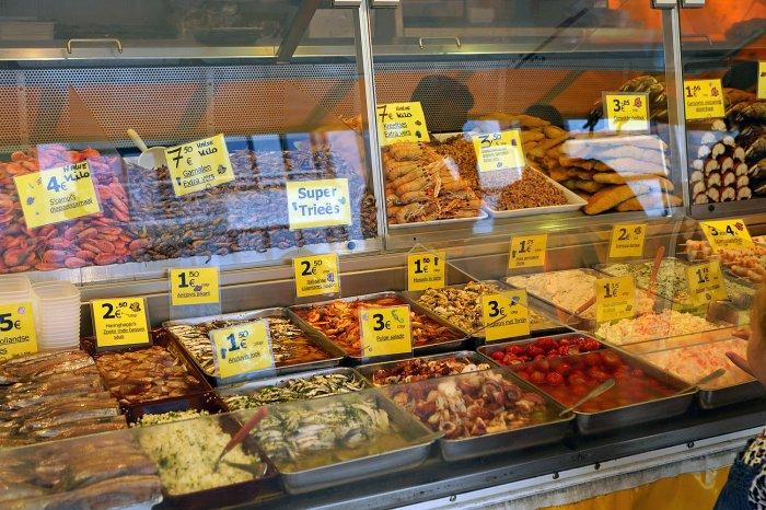 Fischstand in Oostende
