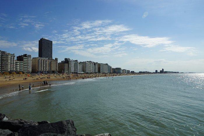 Strand von Oostende