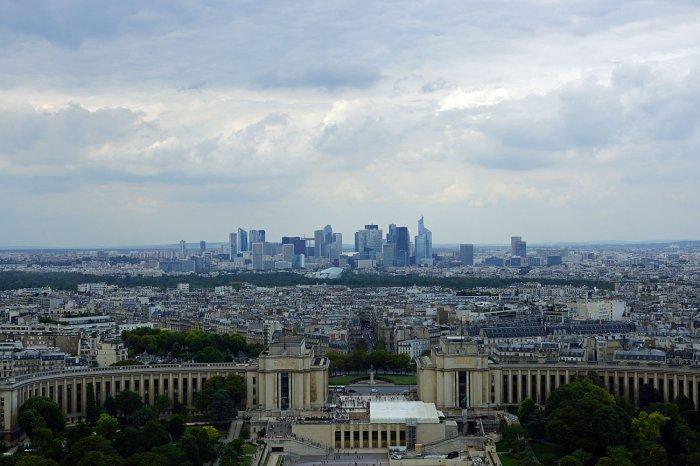 Das Finanzzentrum von Paris