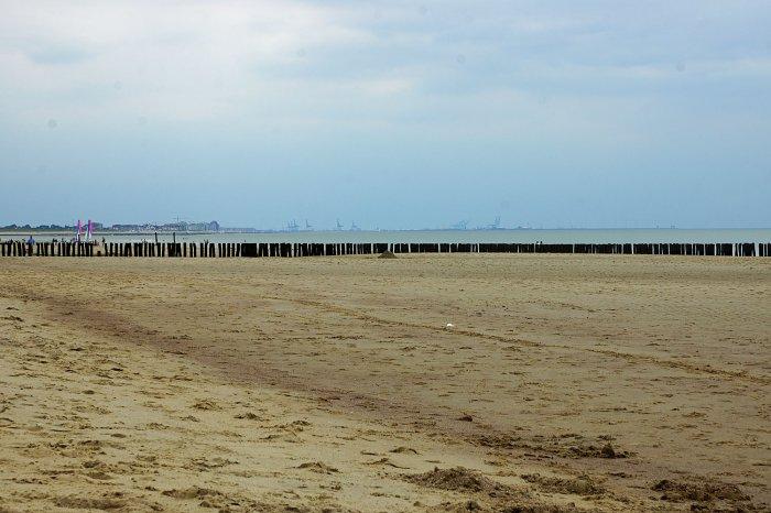 Am-Strand von Cadzand