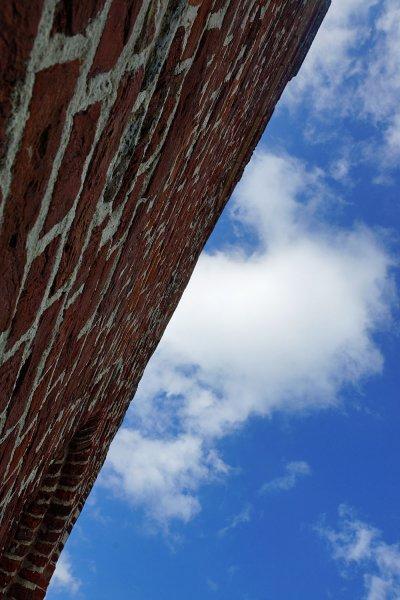 Außenmauer vom Plompetoren