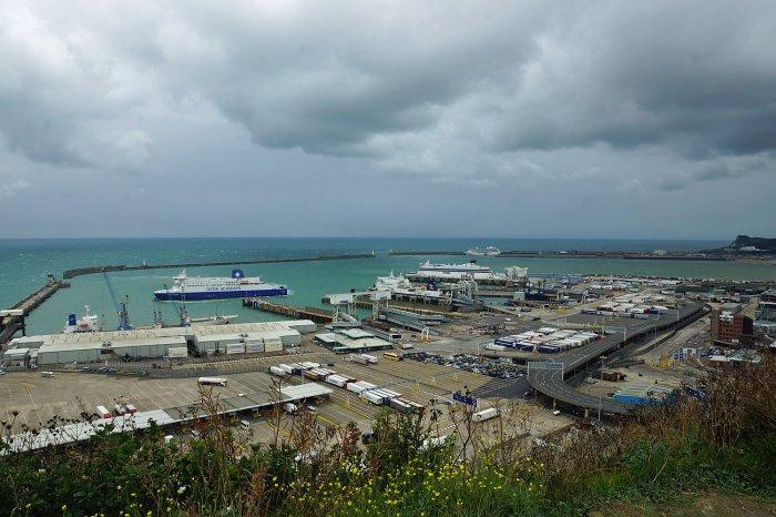 Hafenanlagen von Dover