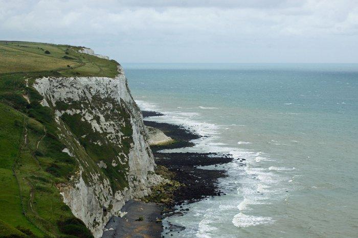 Die weißen Keidefelsen von Dover