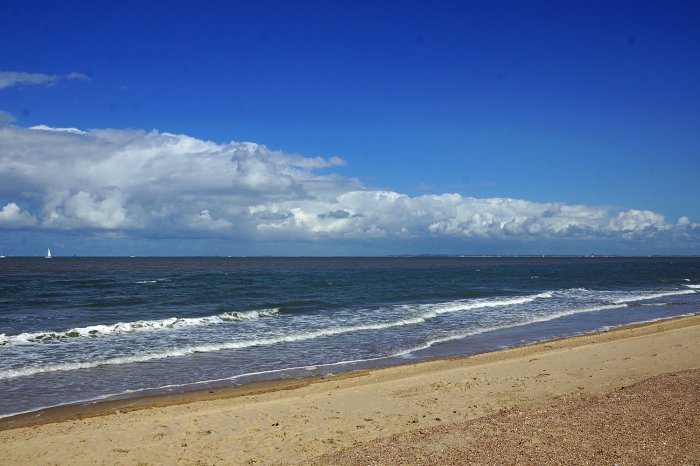 Die Nordsee bei Breskens