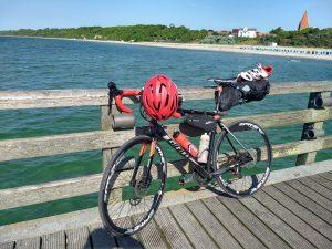 Mein Rad am Strand