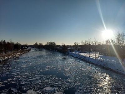 Teltowkanal im Winter