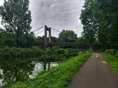 Brücke über den Rhein-Rhône-Kanal